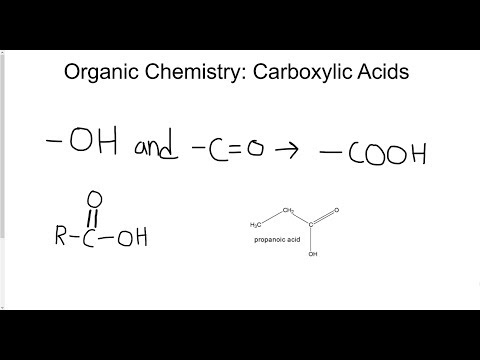 Naming Carboxylic Acids Using the IUPAC Standard
