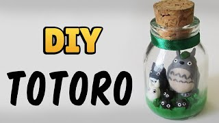 DIY: Como Fazer o Totoro no Potinho (My Neighbor Totoro Tutorial)