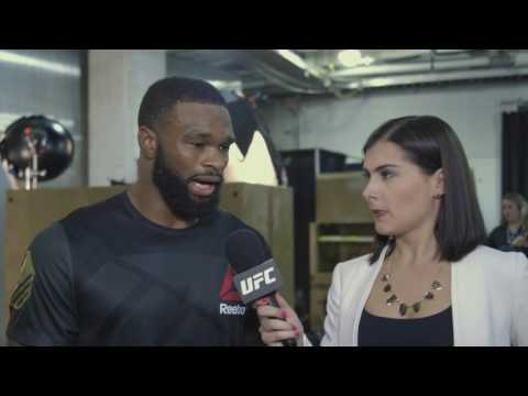 UFC 201: Tyron Woodley Backstage Interview