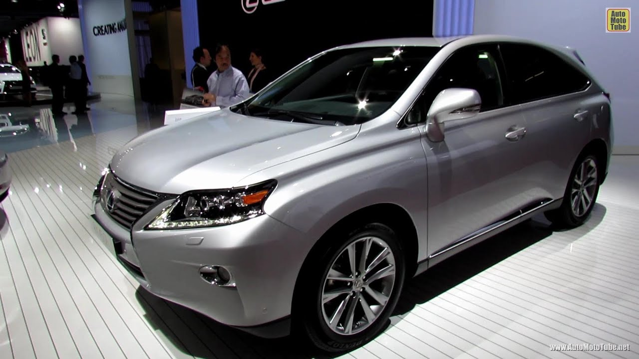 2013 Lexus RX450h Hybrid  Exterior and Interior Walkaround  2012
