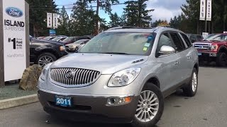 2011 Buick Enclave CXL + Seating for 7 Review/Island Ford