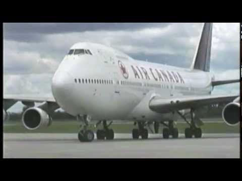 AIR CANADA Fleet At Montreal Dorval (1997)