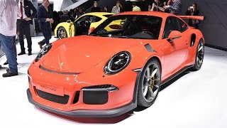 New Porsche 911 GT3 RS Unveiled At Geneva Motor Show