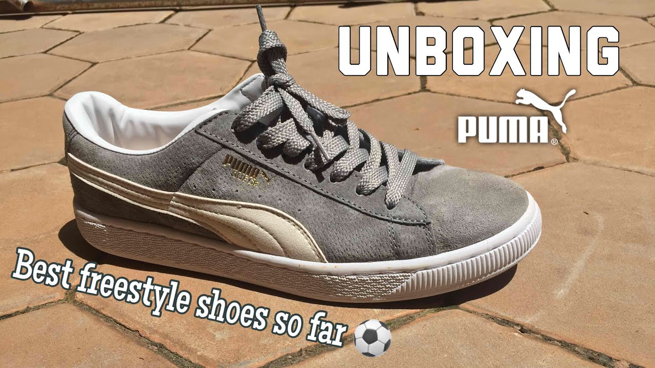 25bfe0de86f Puma suede  UNBOXING  My new freestyle shoes yet! - YouTube
