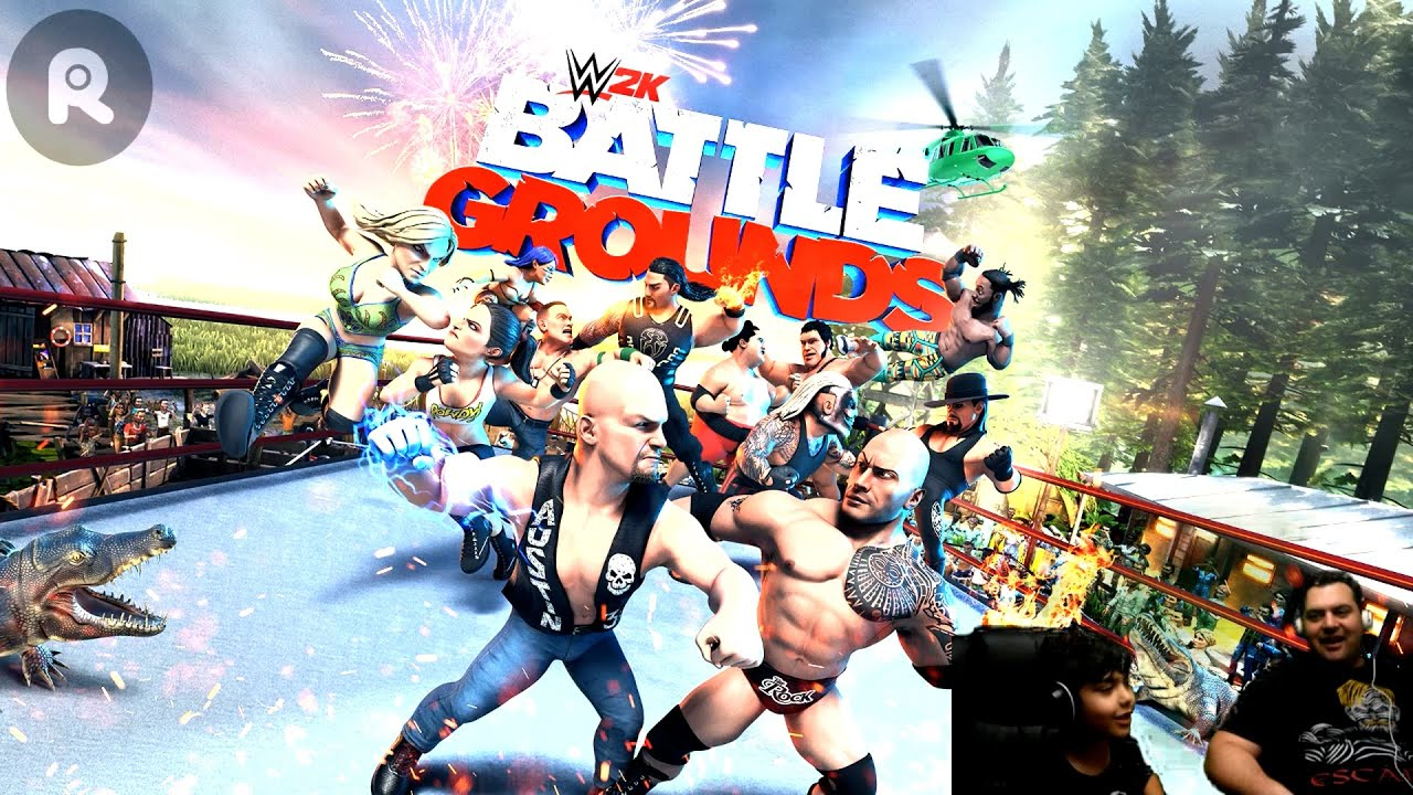 WWE Battle Grounds - Gameplay on PS4