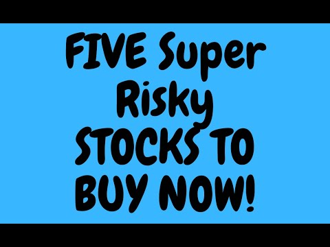 What Super Risky stocks to buy NOW!!(part 4/4)