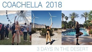 3 Girls take on the desert   COACHELLA 2018 aftermovie