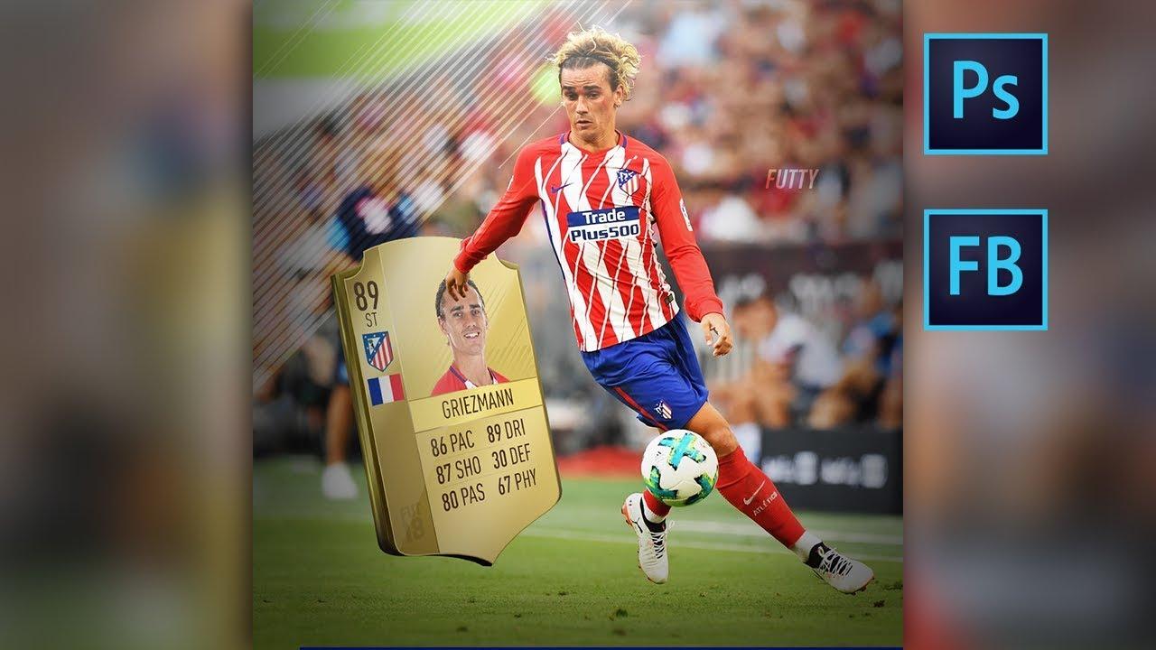 Griezmann At Fifa  Photoshop Speedart