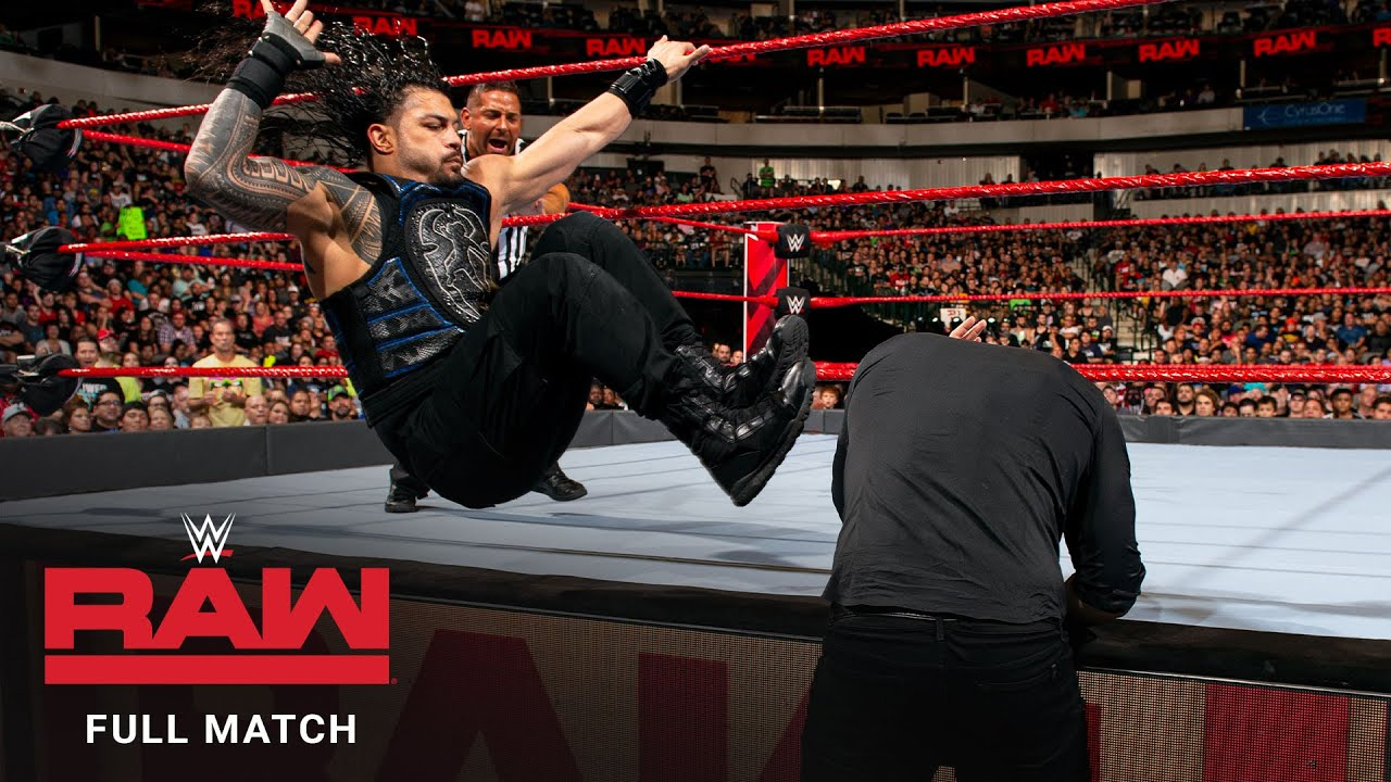 Download FULL MATCH - Roman Reigns vs. Baron Corbin – Universal Title Match: Raw, September 17, 2018