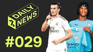 Real Madrid Ditch Gareth Bale   Man City Plan More Big Transfers ► Daily News