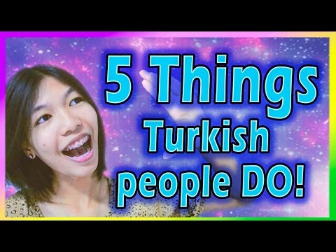 5 Thing Turkish People Do! (and I'm not used to it) || FrammyChang