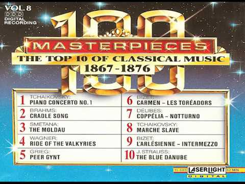 The Top 100 Masterpieces of Classical Music 【 Vol. 8】(10 Volume Set Digital Recording)