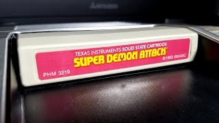 Classic Game Room - SUPER DEMON ATTACK review for TI-99