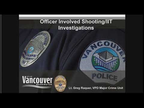 Officer Involved Shooting/IIT Investigations