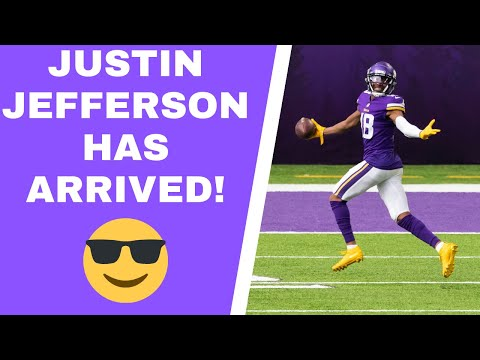 Minnesota Vikings get a breakout performance from Justin Jefferson
