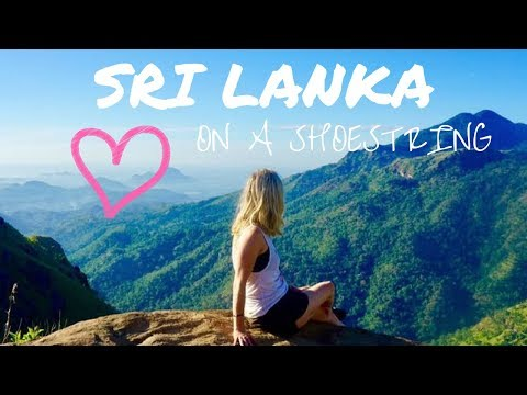 HOW TO TRAVEL SRI LANKA IN 5 DAYS ON A SHOESTRING!