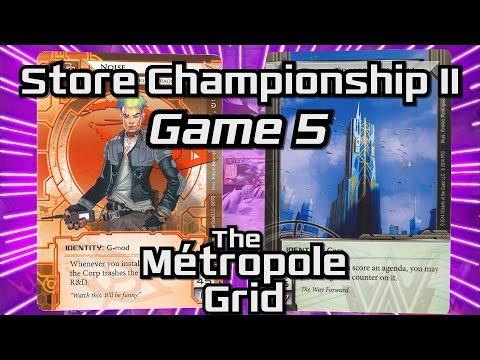 Netrunner Store Championship II 2016: Game 5