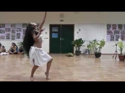 Danse Tahitienne - Conservatoire Artistique de Tahiti 2010 - Examen 2- Tahia Cambet