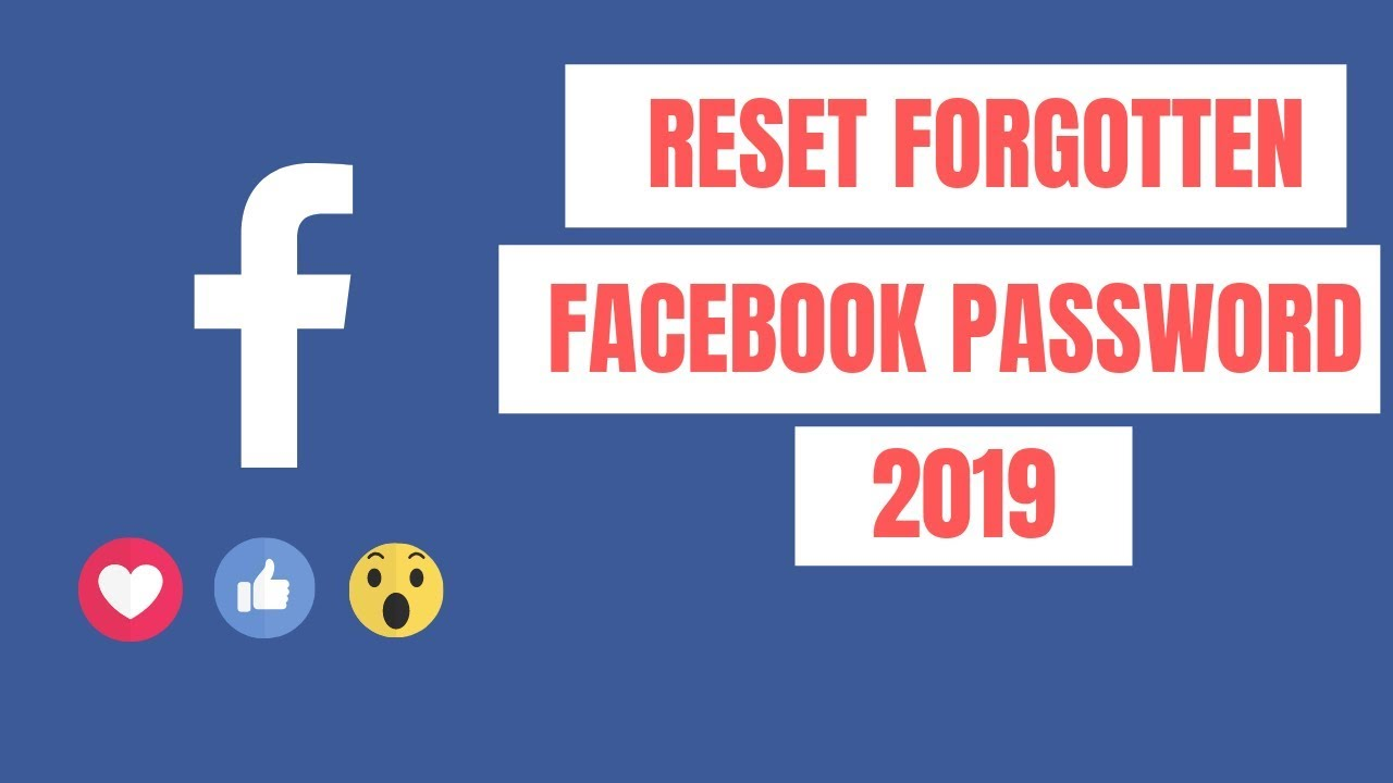 How to Reset Forgot Facebook Password | Recover facebook password without  email and phone number