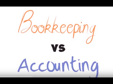 Accountant vs Bookkeeper