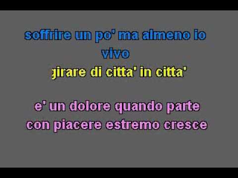 karaoke Andrea Bocelli - Giorgia - Vivo Per Lei.flv