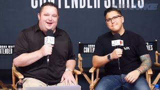 MMA Junkie presents Dana White's Contender Series 23 pre-show
