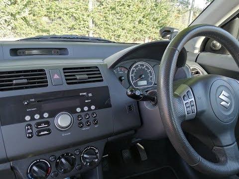 Suzuki Swift 2004 to 2010 how to remove factory radio