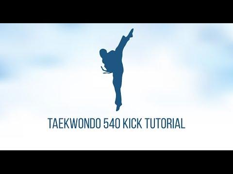 Taekwondo 540 kick tutorial thumbnail