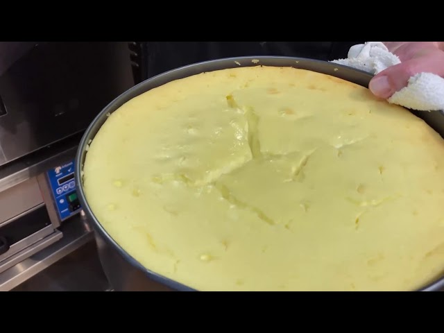 Cheesecake in the Alto-Shaam Cook & Hold Oven