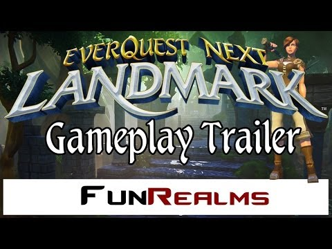 Everquest Next Landmark – Trailer