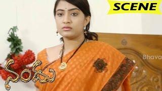Raghu Blackmails Triveni About Their Affair - Emotional Scene || Nandu Movie Scenes