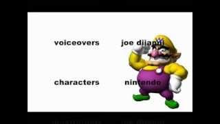 Wario de dibujos animados protagonizada por Mario!