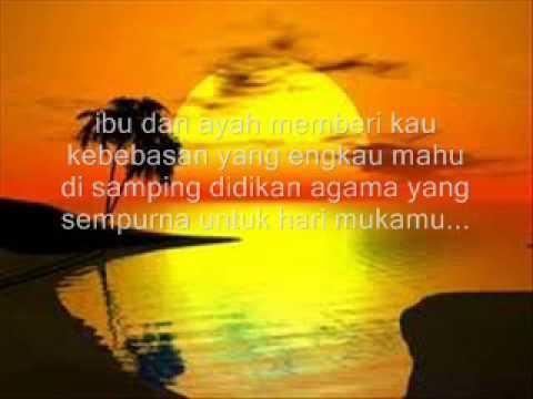 Carefree - Anak with lyrics