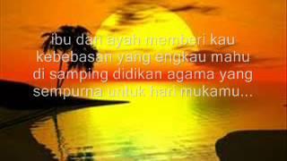 CAREFREE - Anak (lirik)