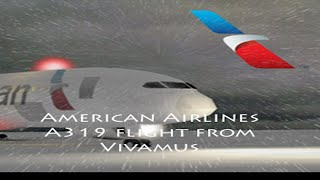 American Airlines flight A319 (ROBLOX)