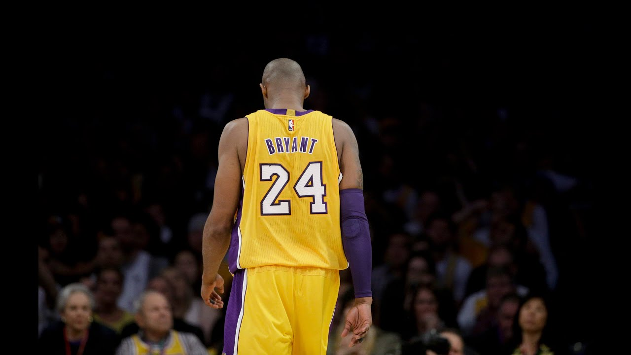 dc87b545a0c Kobe's Final Exit in his Last NBA Game! - YouTube