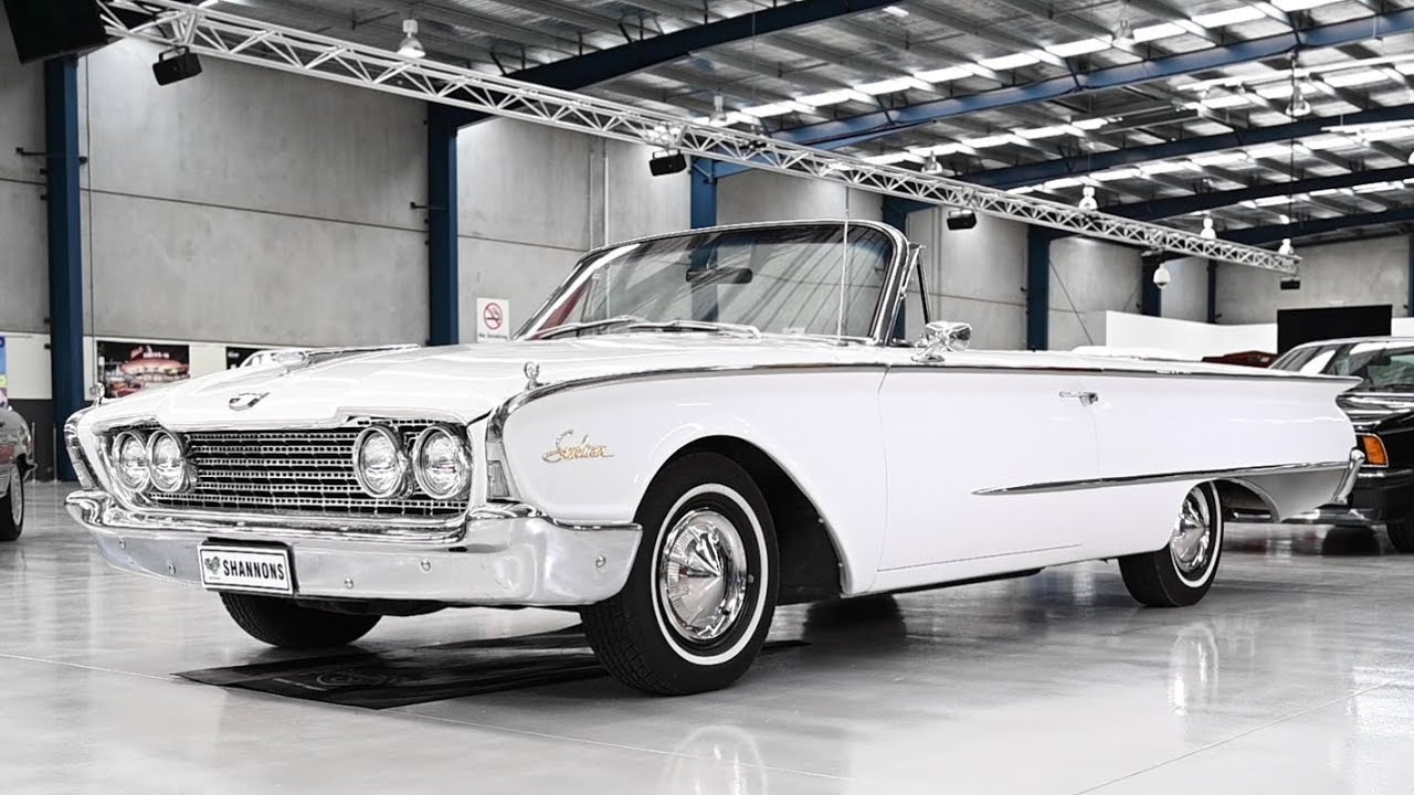 1960 Ford Galaxie Sunliner Convertible (RHD) - 2019 Shannons Melbourne Summer Classic Auction