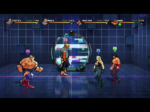 Streets of Rage 4 Anniversary Edition - Video