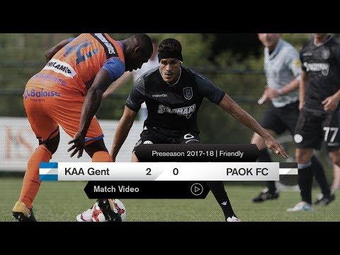 ΠΑΟΚ-KAA Gent [live] - PAOK TV
