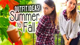 Summer to Fall Transition Outfits! (How to wear fall trends in the heat)  | itsLyndsayRae Thumbnail