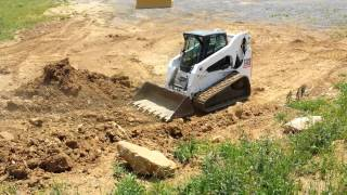 2010 Bobcat T320 skid steer loader