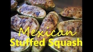 Stuffed Mexican Squash Recipe