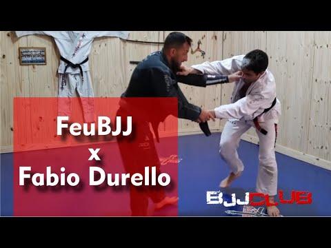 Treino do Fabio Durello e FeuBJJ na casa do Feu - Jiu Jitsu - BJJCLUB x FEUBJJ