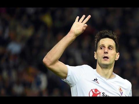 Tutti i gol di Nikola Kalinić con la Fiorentina