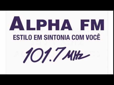 Prefixo Radio Alpha 101.7 FM São Paulo SP