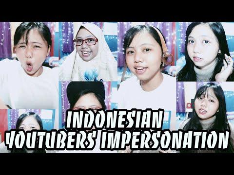 IMPERSONATE YOUTUBERS TERKENAL INDONESIA. PECAH!!