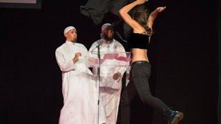 ناشطات عاريات الصدور يقتحمن مؤتمر اسلامي في فرنسا - عناوين أخبار البوابة اليومية