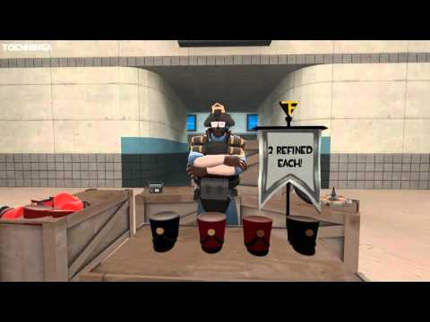 Team Fortress 2: Trade servers in a nutshell