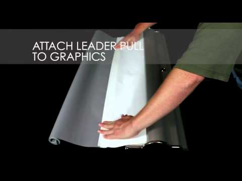 How to Set Up Silverstep Retractable Banner Stand Graphic | San Diego Banner Stands