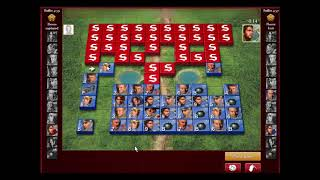 Mystery Player Stratego Tutorial Series(Flag up Front) Game 10 of 25